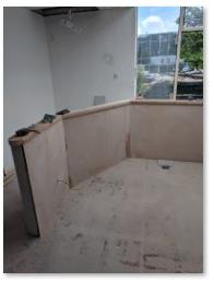 Plastering Dwarf Wall